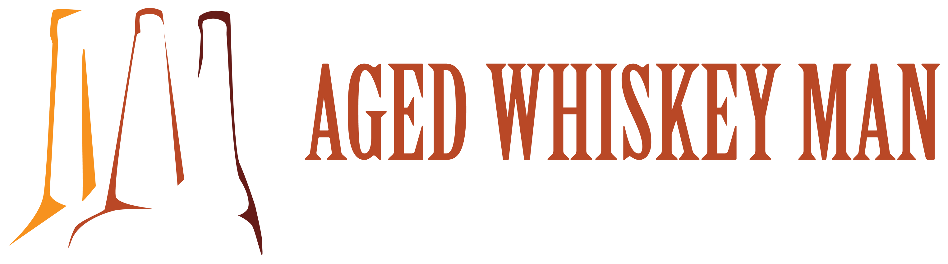 Aged Whiskey Man logo